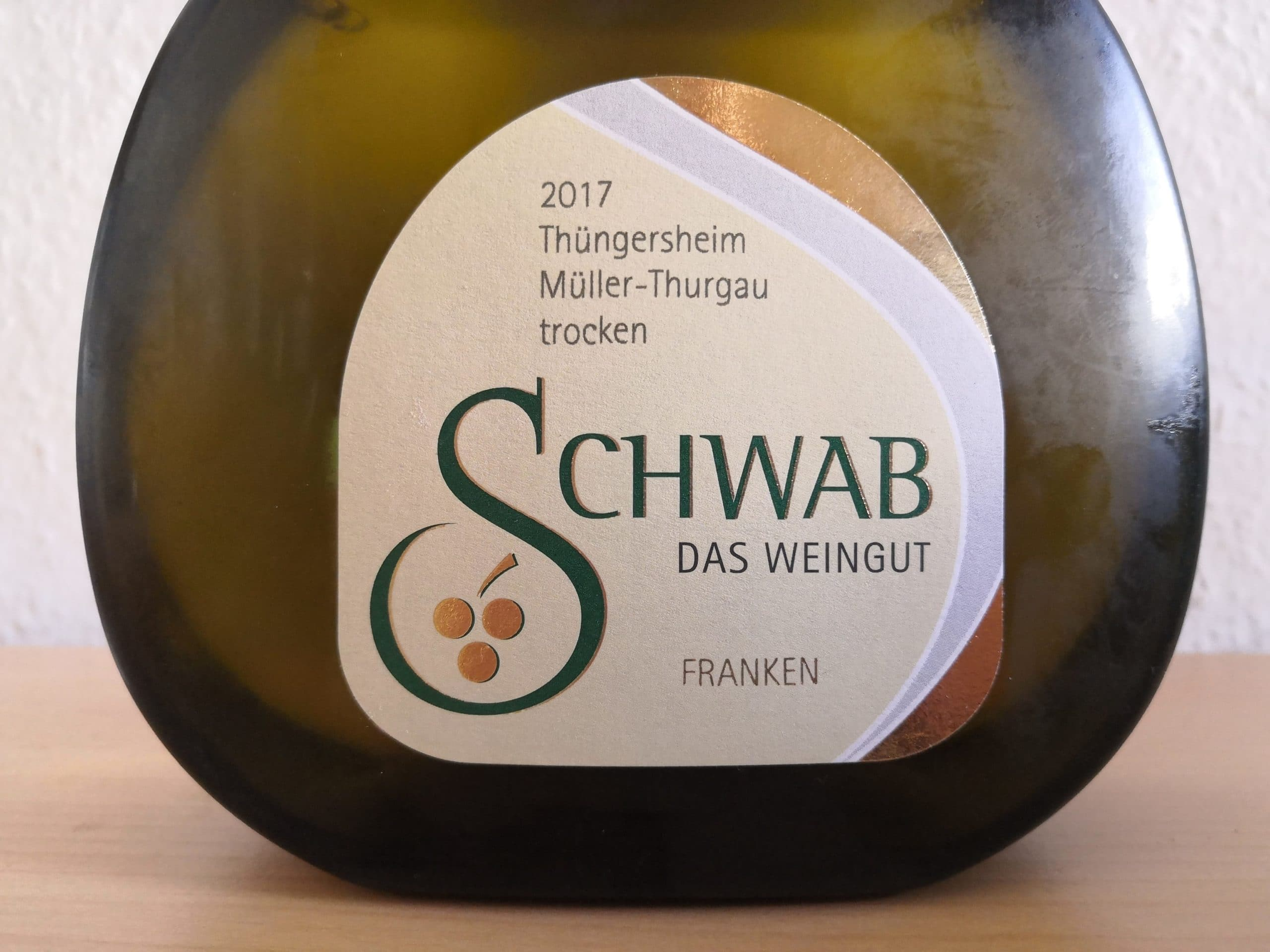 2017er Thüngersheim Müller-Thurgau trocken, Weingut Schwab in Thüngersheim