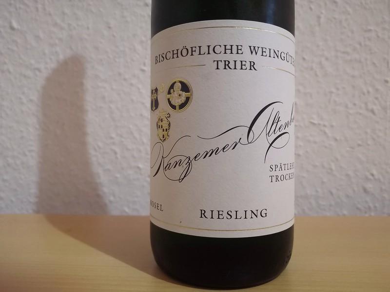 2015er Kanzemer Altenberg Riesling Spätlese trocken – Bischöfliche Weingüter Trier