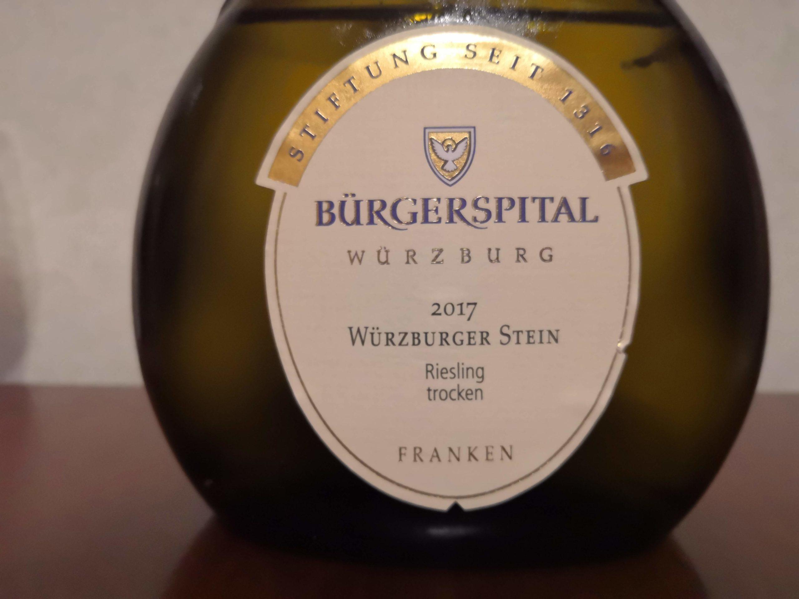 2017er Würzburger Stein Riesling trocken – Bürgerspital Würzburg