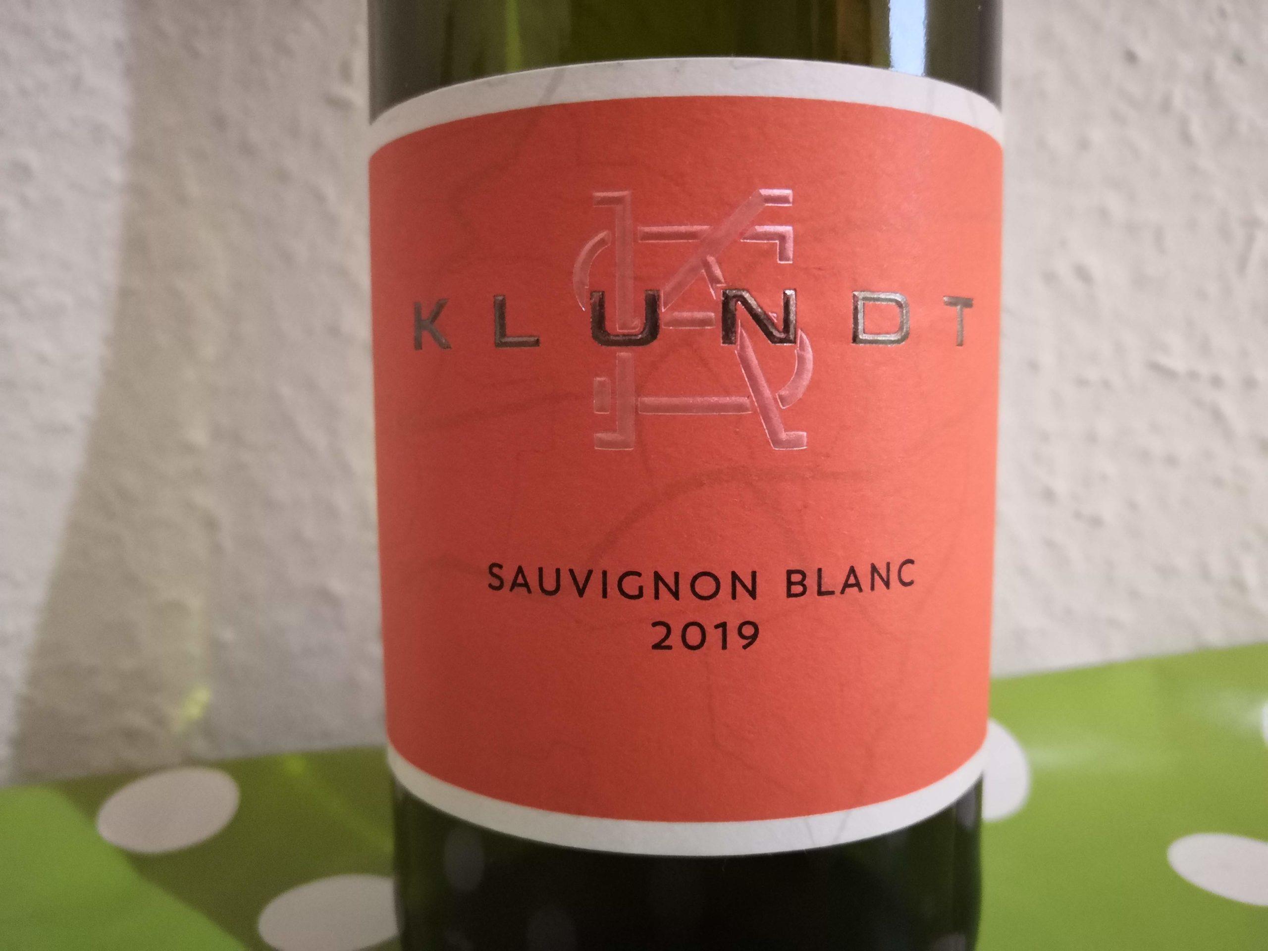 2019er Sauvignon Blanc trocken vom Weingut Klundt