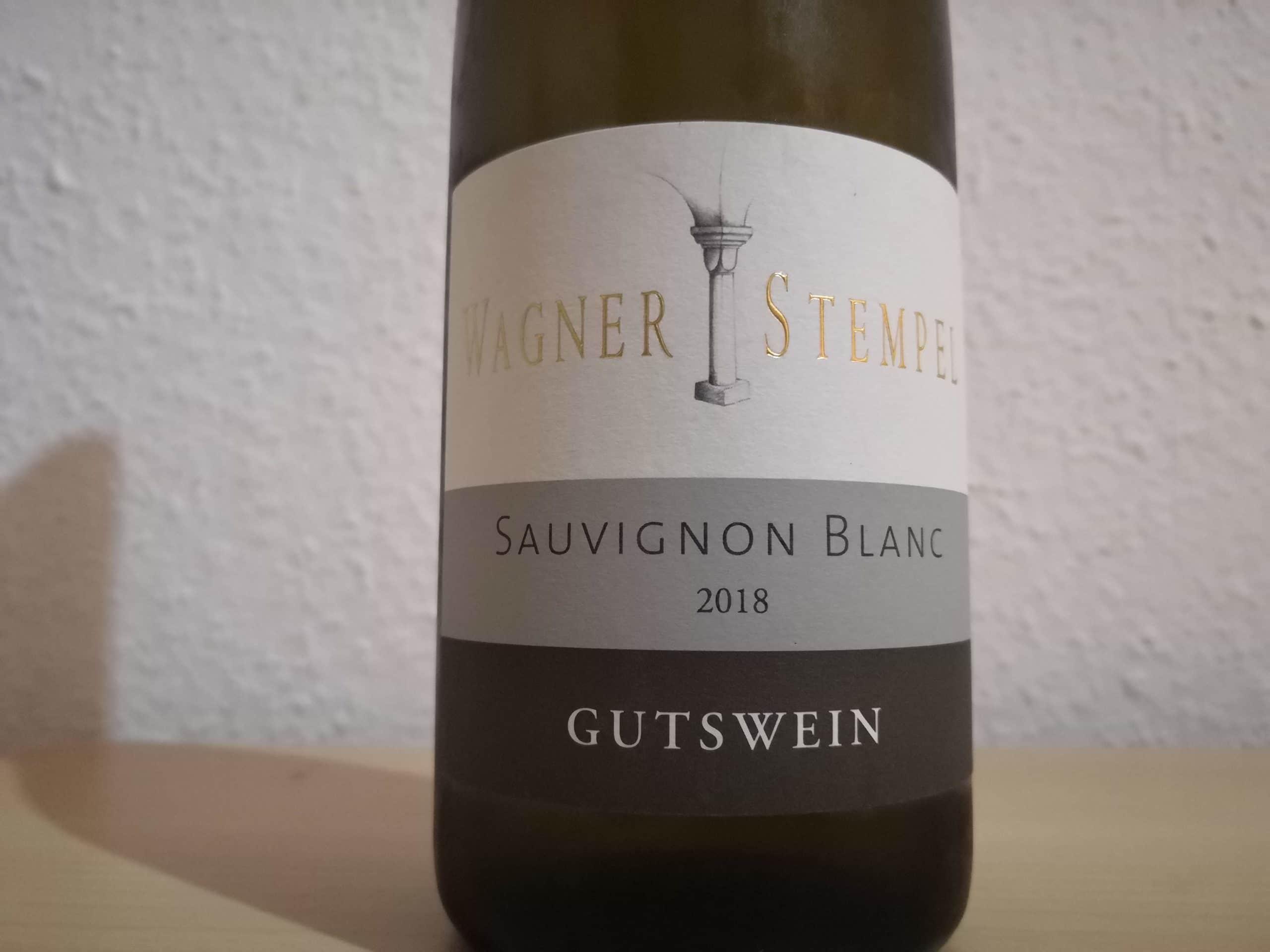 2018er Sauvignon Blanc trocken vom Weingut Wagner-Stempel