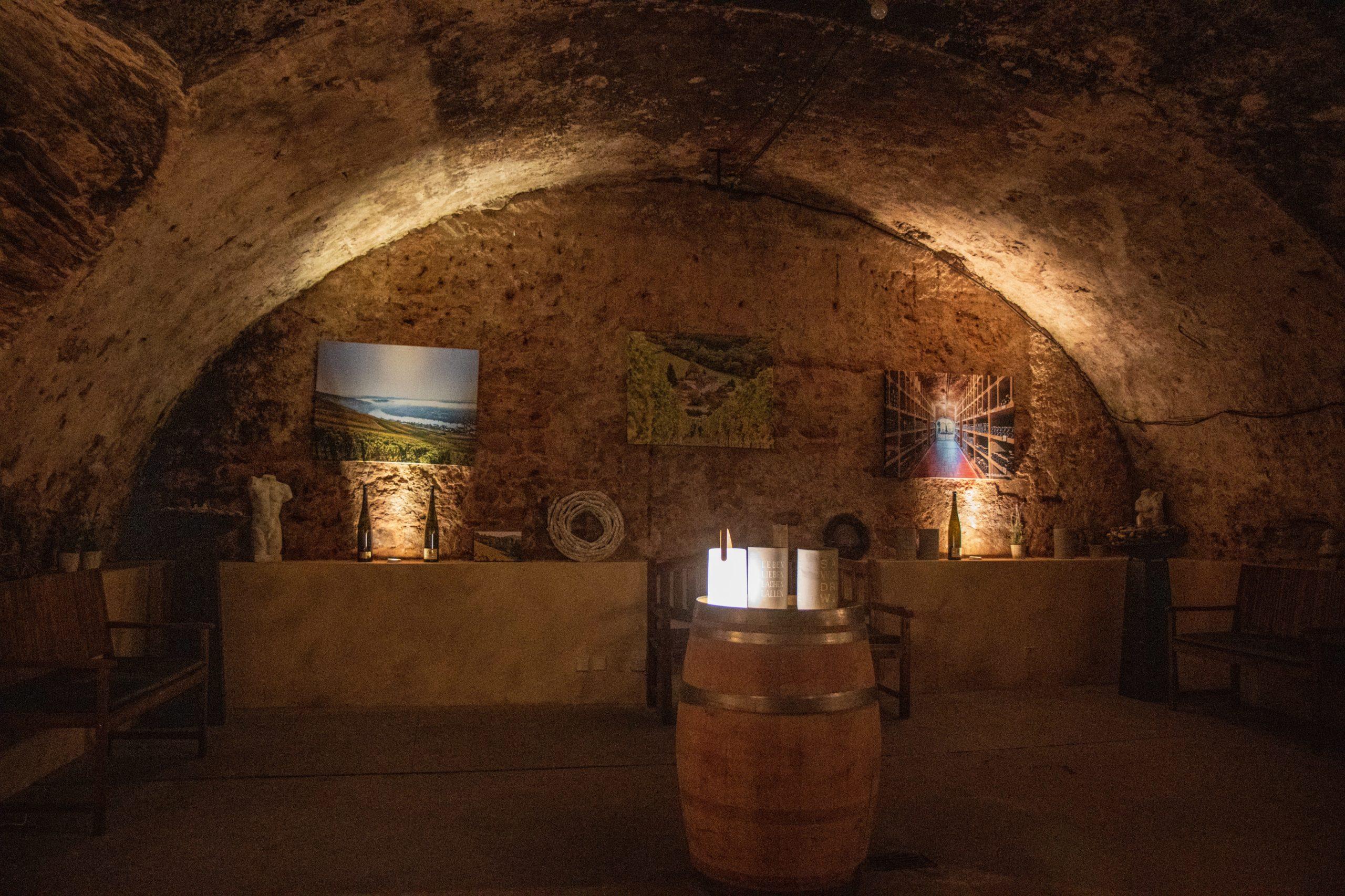 """Weinprobe """"Rassiger Riesling"""" beim Weingut Reichsgraf von Kesselstatt in Trier"""