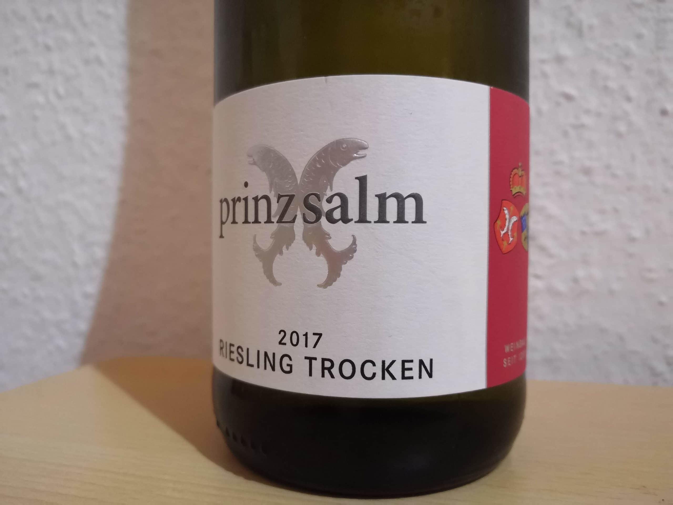 2017er Riesling trocken vom Weingut Prinz Salm