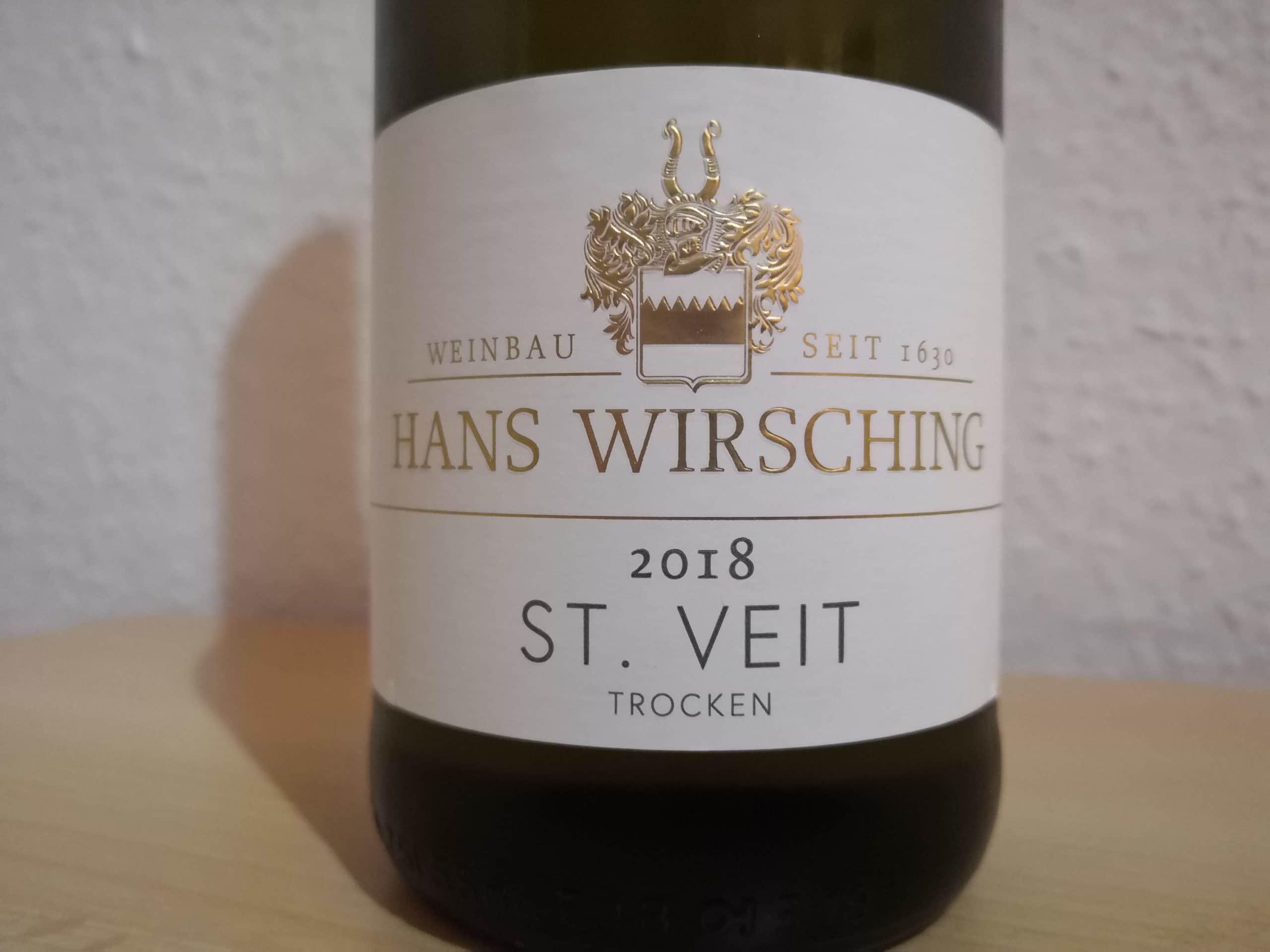 2018er St. Veit trocken vom Weingut Hans Wirsching