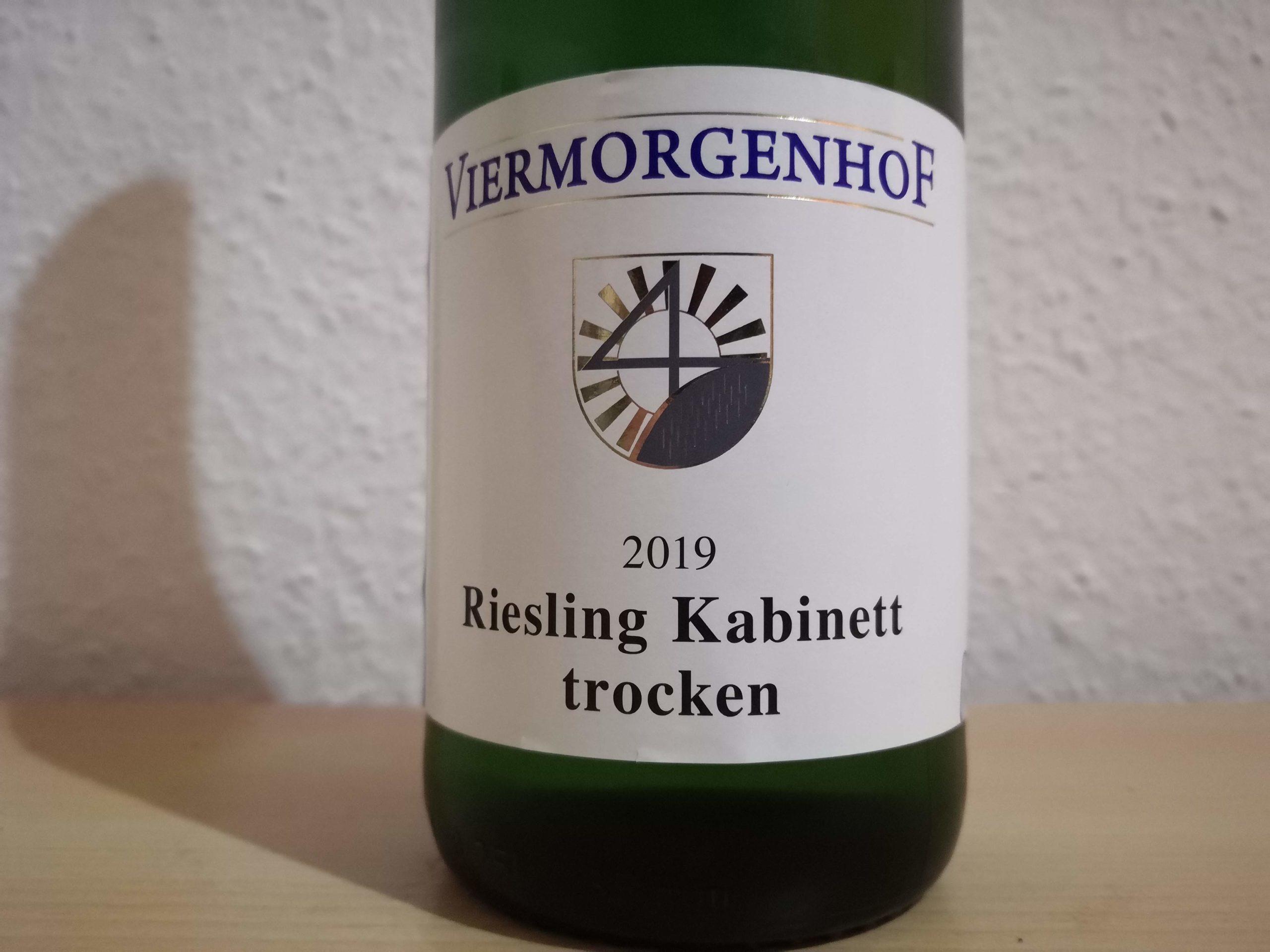 2019er Riesling Kabinett trocken – Weingut Viermorgenhof