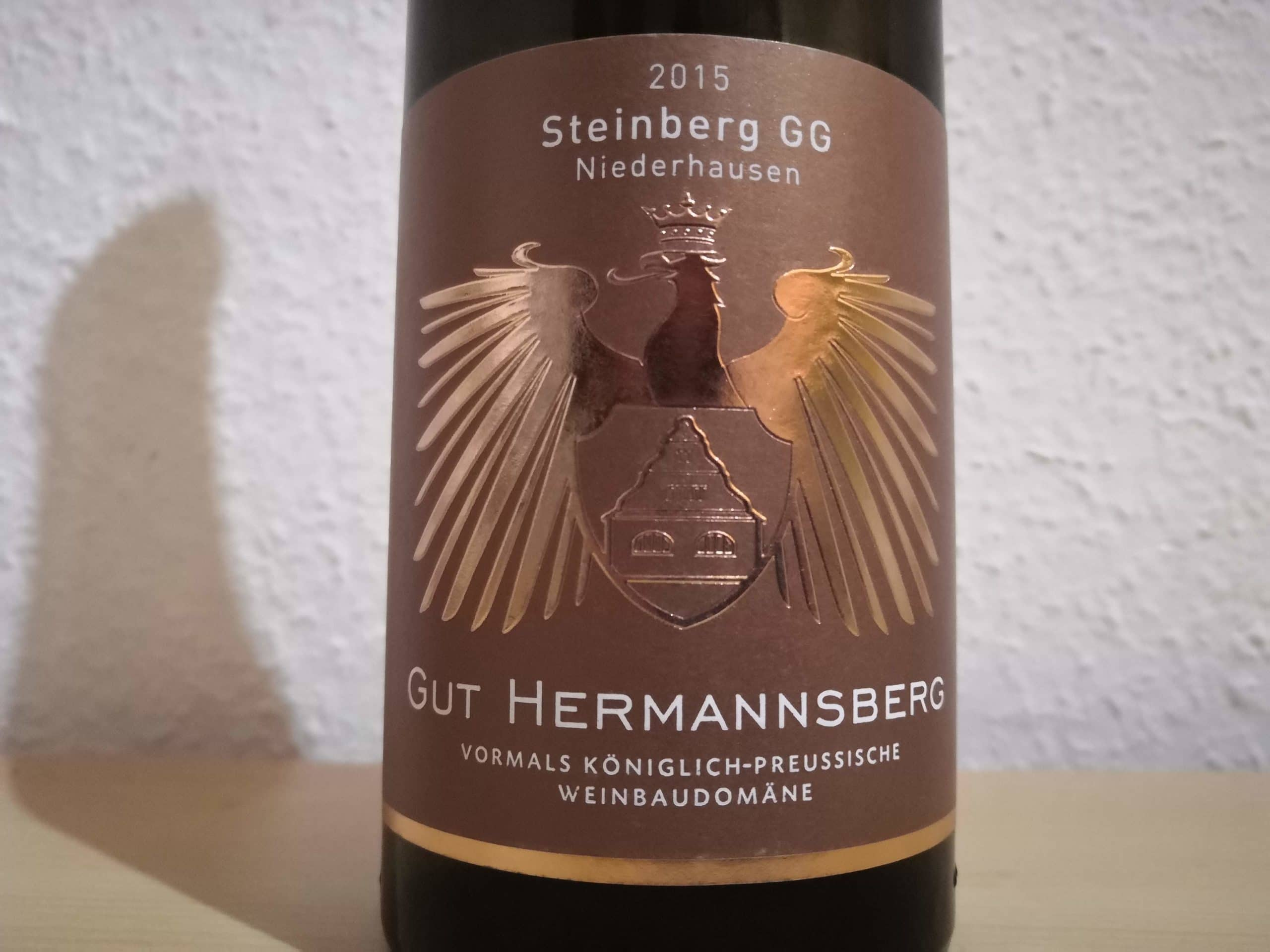 2015er Niederhäuser Steinberg Riesling GG – Gut Hermannsberg