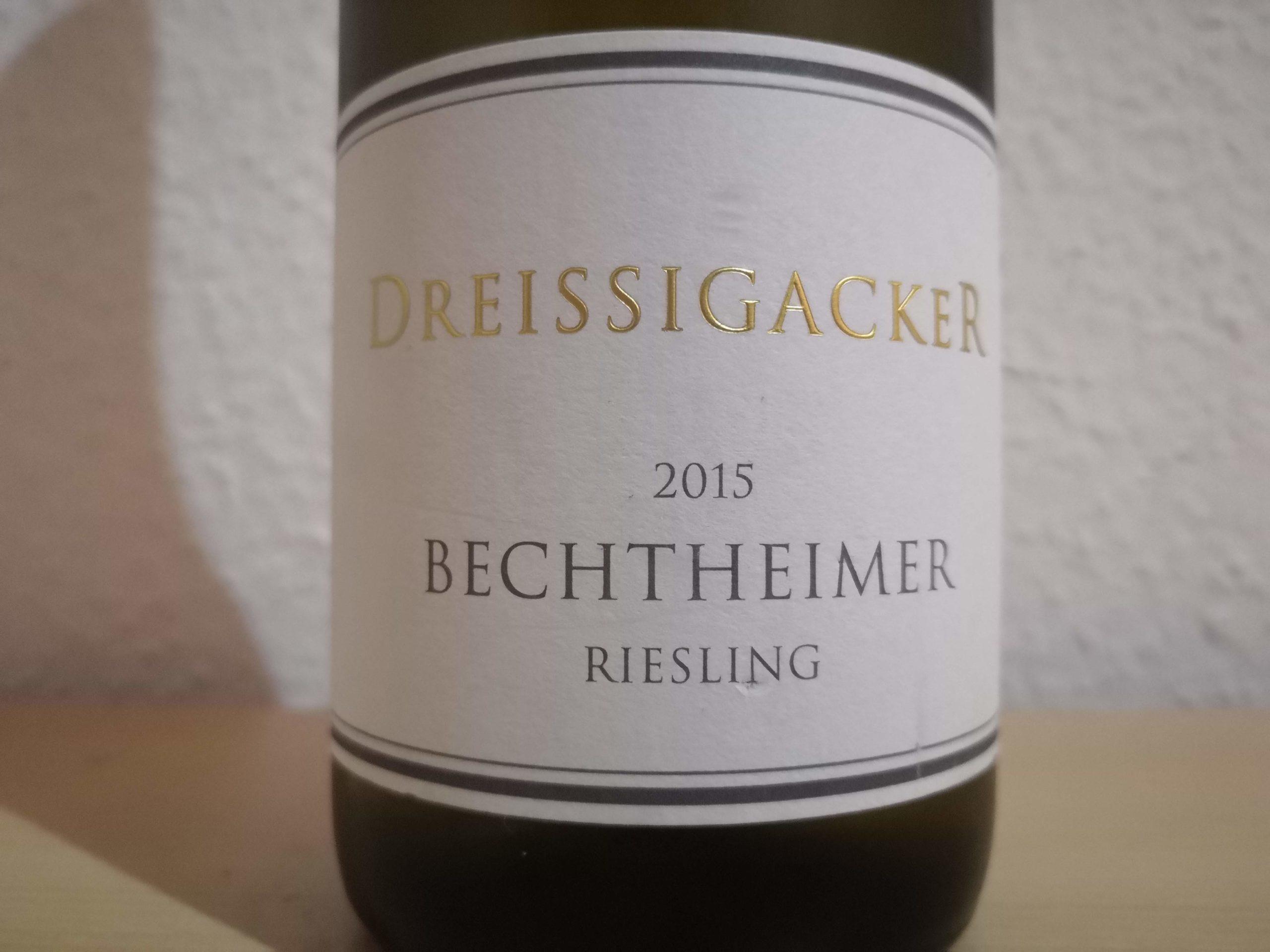2015er Bechtheimer Riesling trocken – Weingut Dreissigacker