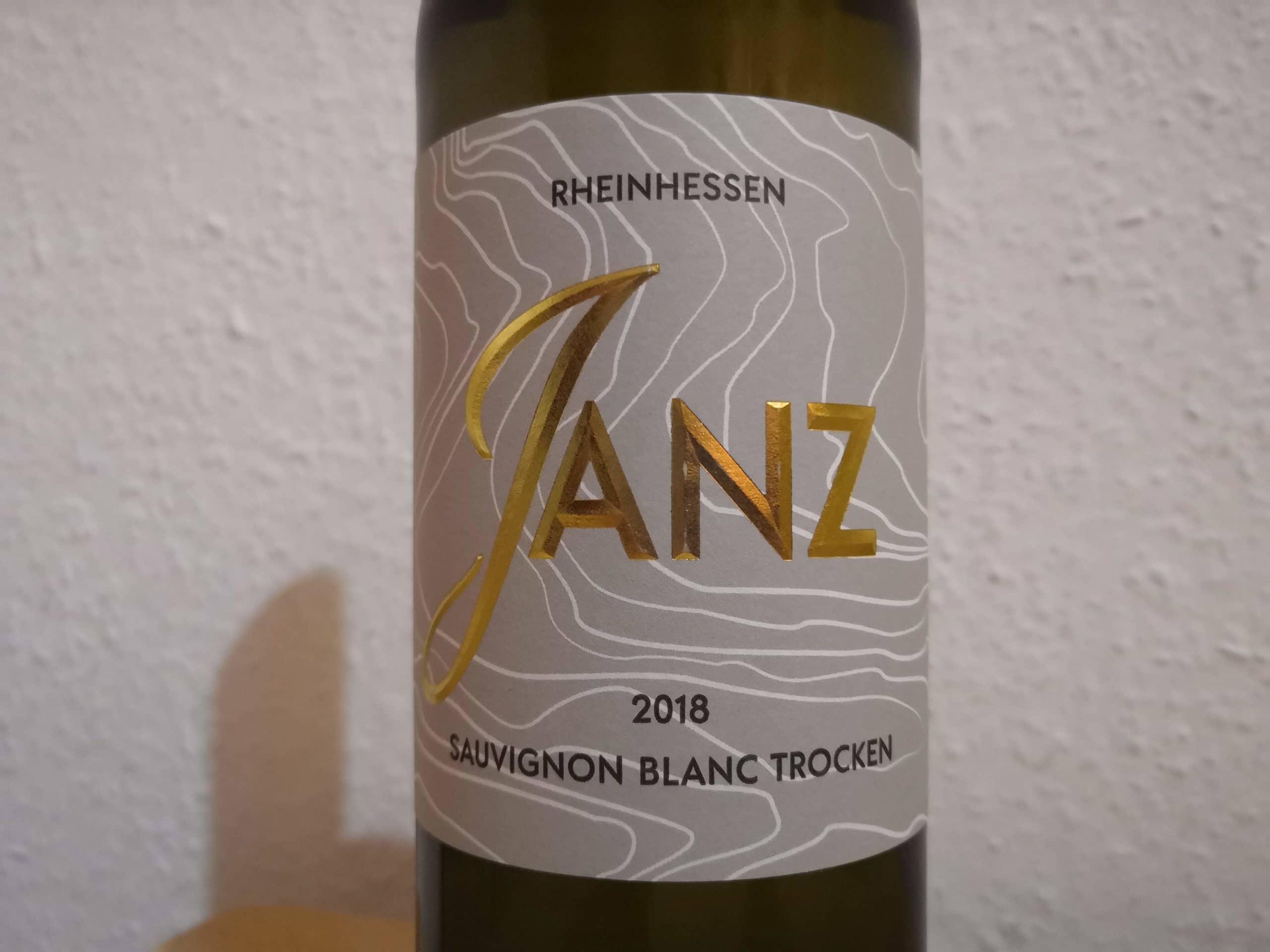 2018er Sauvignon Blanc trocken – Weingut Janz