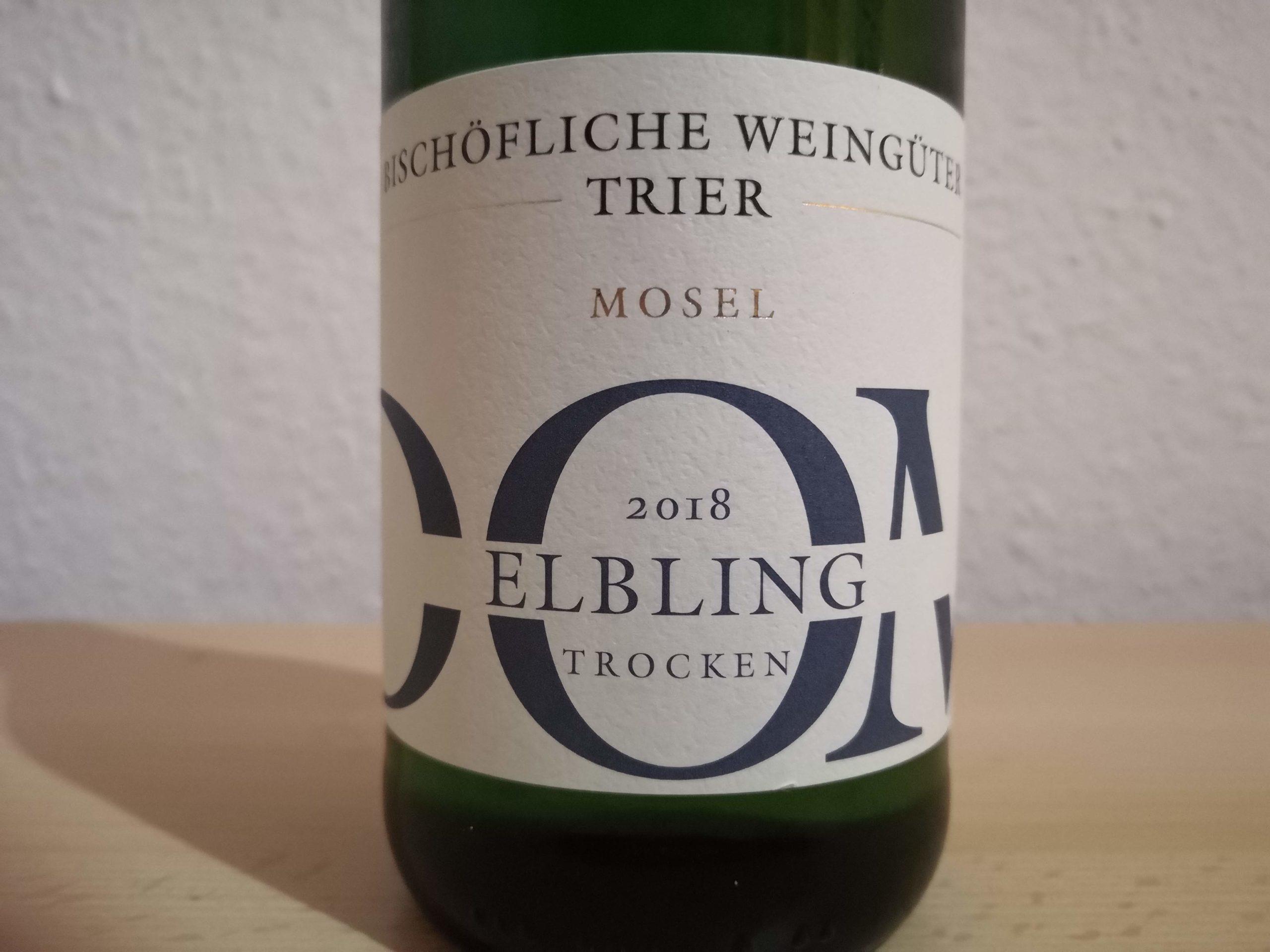 2018er DOM Elbling trocken – Bischöfliche Weingüter Trier