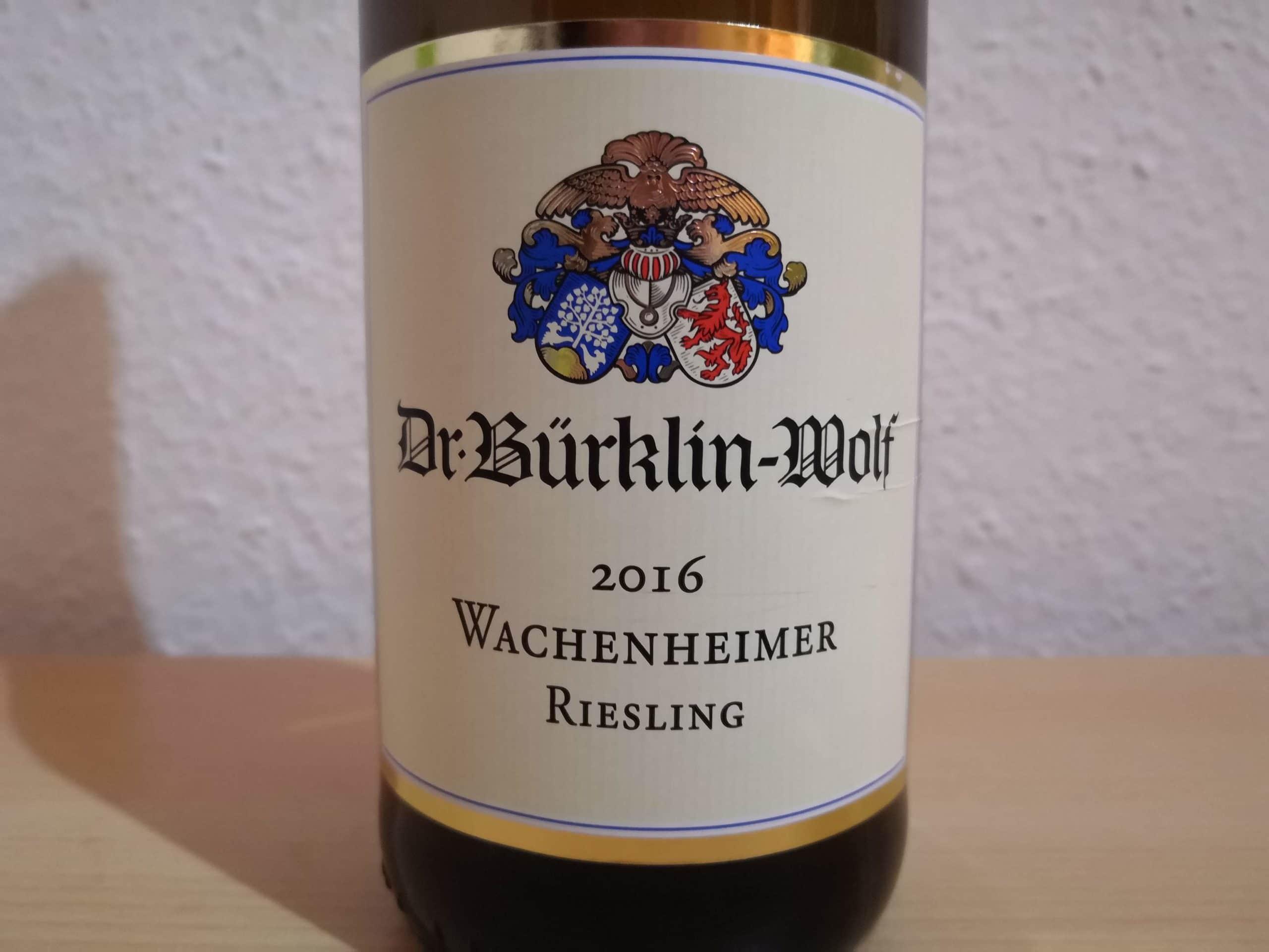 2016er Wachenheimer Riesling trocken vom Weingut Bürklin-Wolf